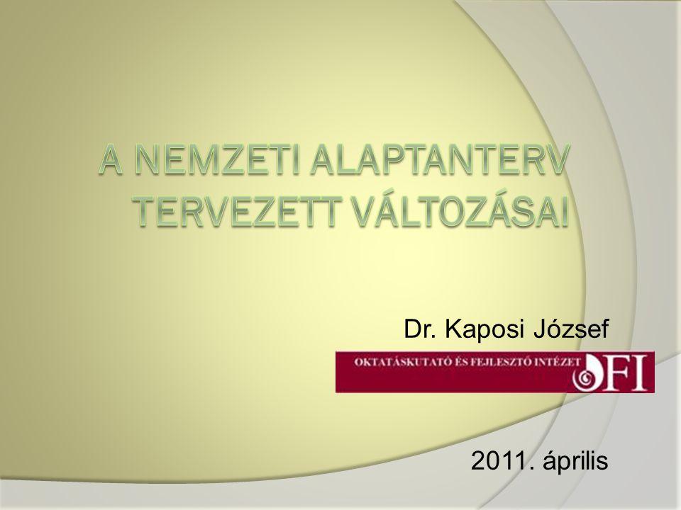 Dr. Kaposi József 2011. április