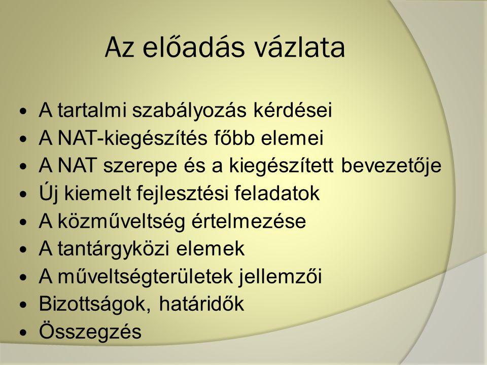 Nat bizottság felkért tagjai 1.Dr. Aczél Petra, egyetemi docens, PPKE 2.