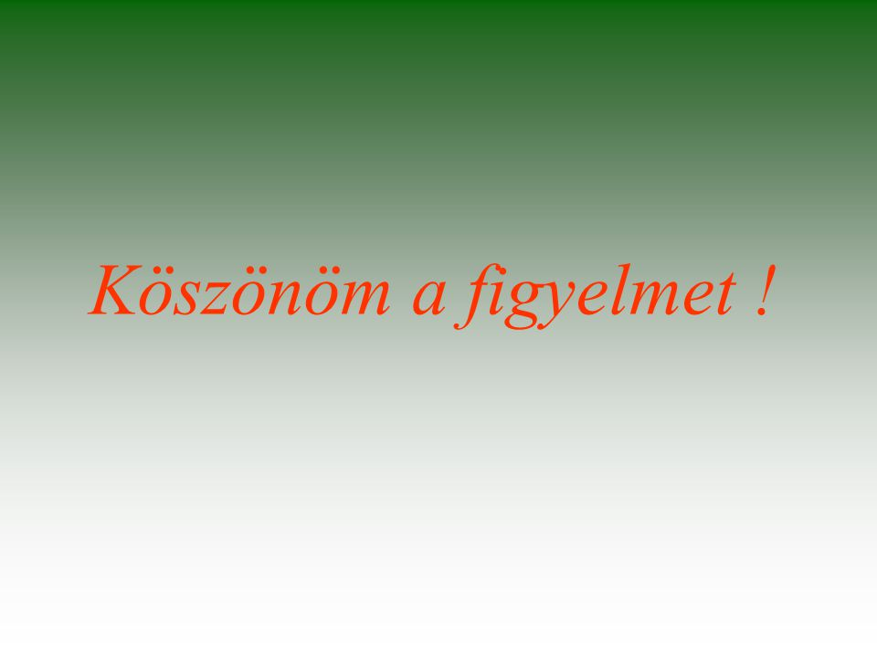 Polgárdi. 2014. december 16. Prof.Dr.Csőke Barnabás Köszönöm a figyelmet !