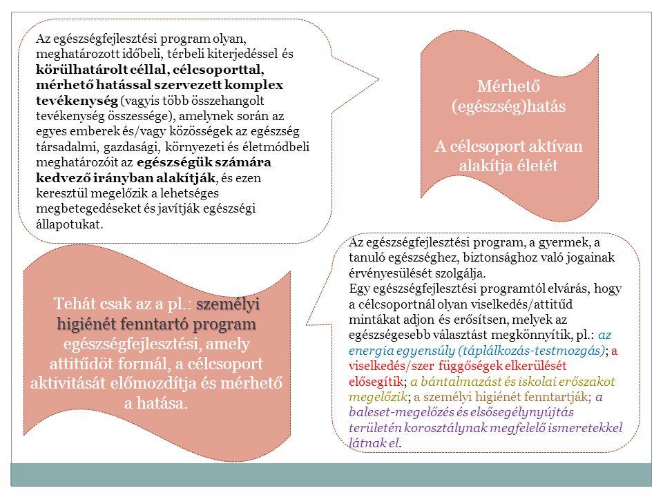 Szakmai ajánlás.20/2012. (VIII. 31.) EMMI rendelet 128.