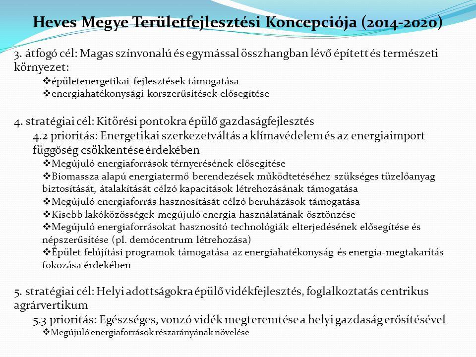 Heves Megye Területfejlesztési Programja(2014-2020) 2.1.