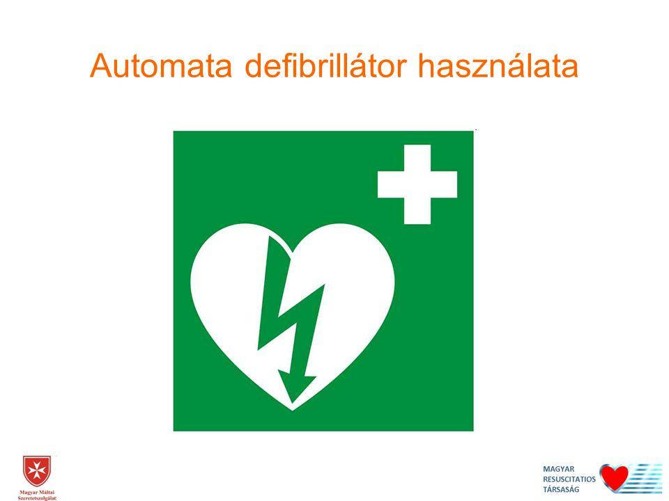 Automata defibrillátor használata