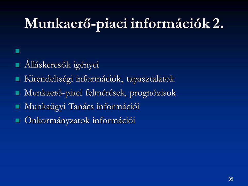 35 Munkaerő-piaci információk 2.