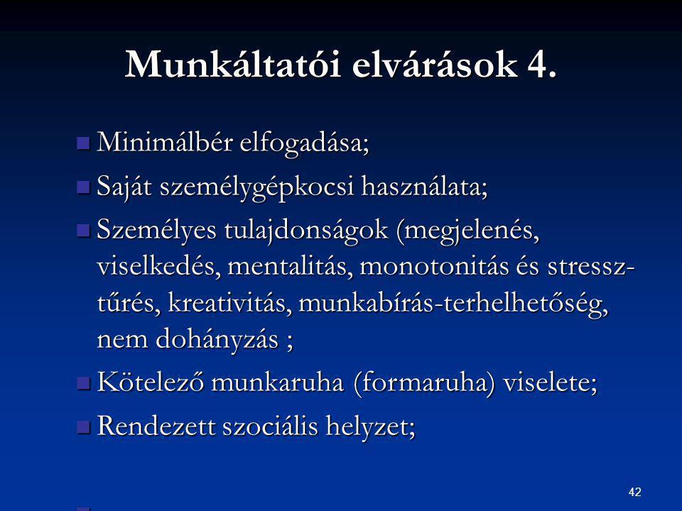 42 Munkáltatói elvárások 4.
