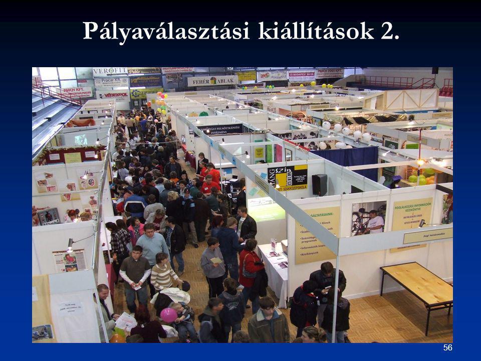 56 Pályaválasztási kiállítások 2.
