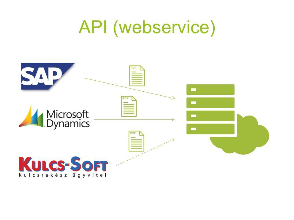 API (webservice)