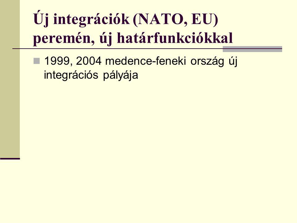 A mindenkori Magyarország közvetlen szomszédai, 950-1914 95010151100120012701360140015191648171517401795181518781914 Német Birodalom - Ausztria +++++++++++++++ Lengyelország+++++++++++ Halics - Lodoméria++ Oroszország+++++ ++++ Besenyők++ Bulgária+ +++ Szerbia+ ++++ ++ Horvátország+++ Kelet-római Birodalom ++ + Kunország + Tatár Birodalom + Havasalföld +++ Moldva ++ Albánia + Török Birodalom ++++++ Velencei Köztársoság + ++++ Erdélyi Fejedelemség + Románia ++ Bosznia-Hercegovina ++