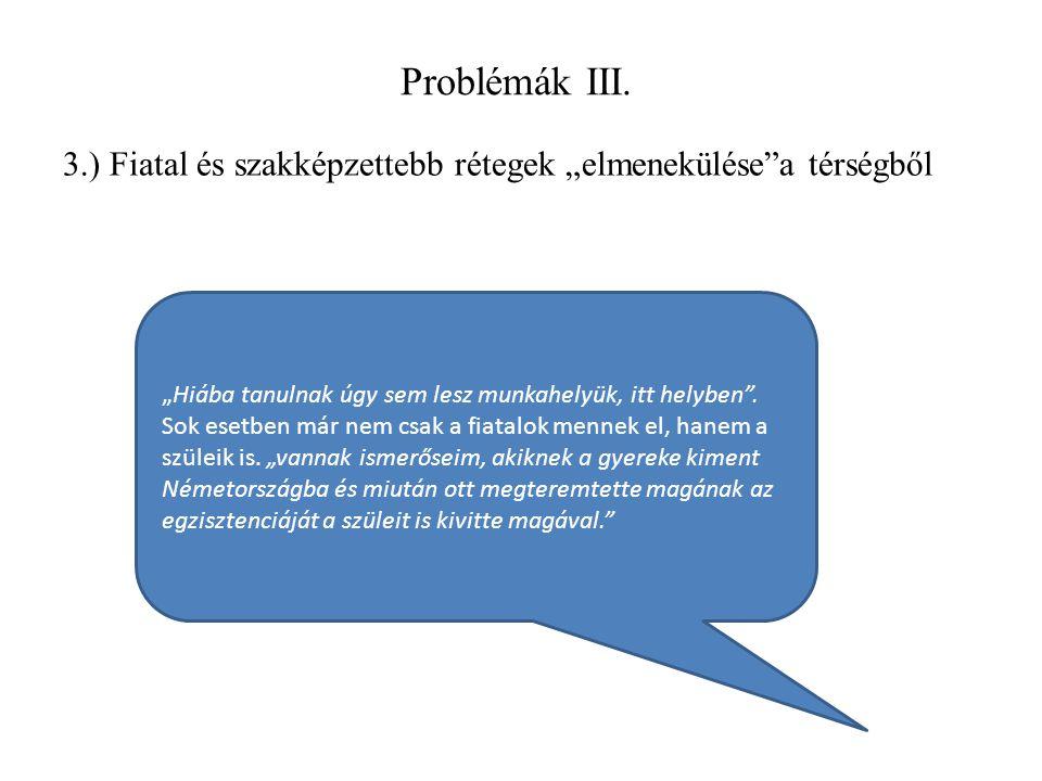 Problémák III.