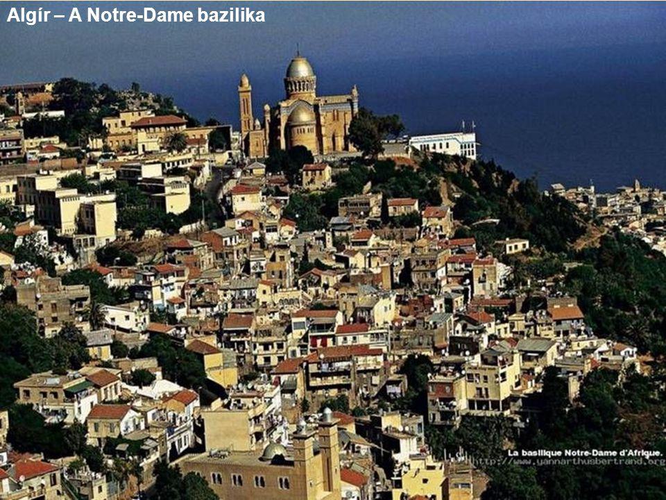 Algír – A Notre-Dame bazilika