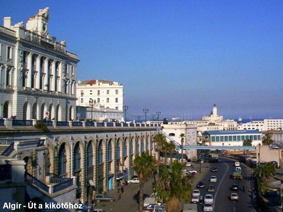 Algír - Út a kikötőhöz