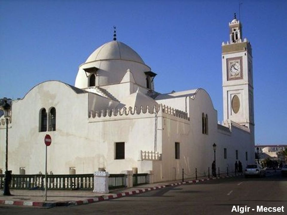 Algír – Abdel Kader emír szobra