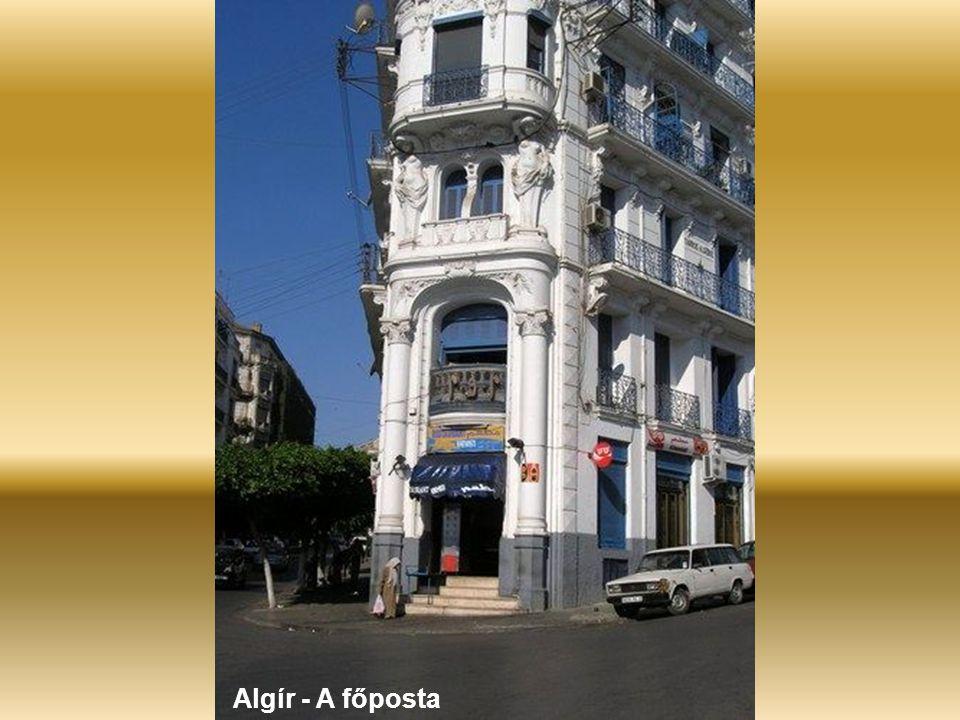 Algír – A kormányhivatal előtt