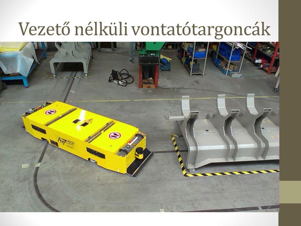 Vezető nélküli vontatótargoncák