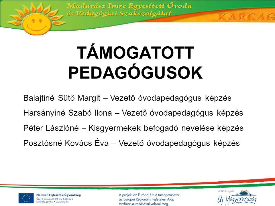 Megvalósuló tevékenységek A pályázati projektről minél szélesebb körű tájékoztatás, nyilvánosság biztosítása Beszámolási, adatszolgáltatási kötelezettség (félévente) Projektmenedzsment működtetése