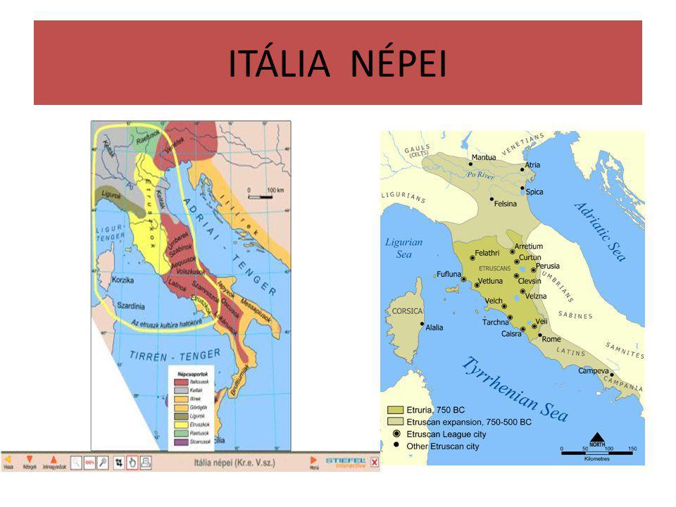 ITÁLIA NÉPEI