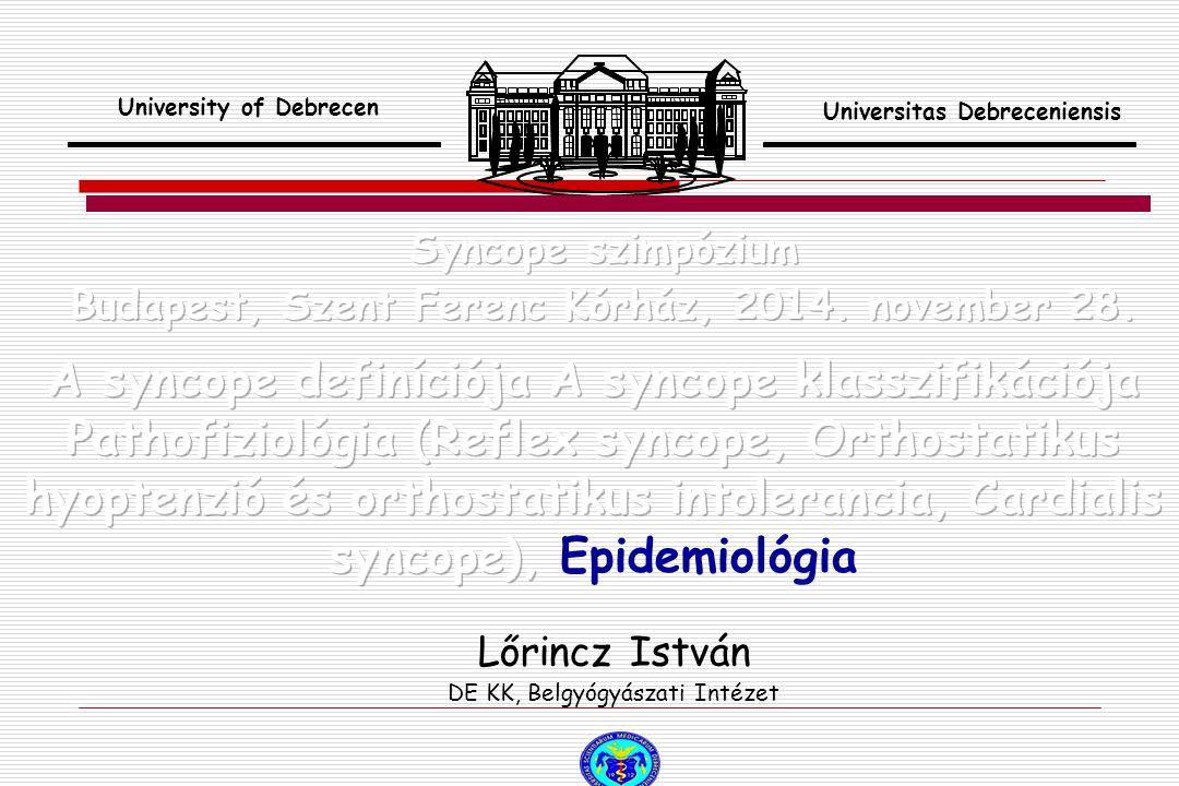 Lőrincz István DE KK, Belgyógyászati Intézet