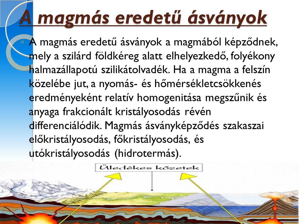 A metamorf eredető ásványok a földkéregben már meglévő ásványok (kőzetek) anyagának átalakulása révén jönnek létre.