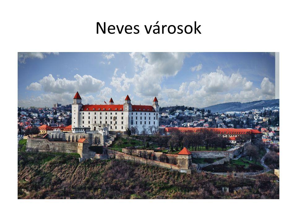 Neves városok