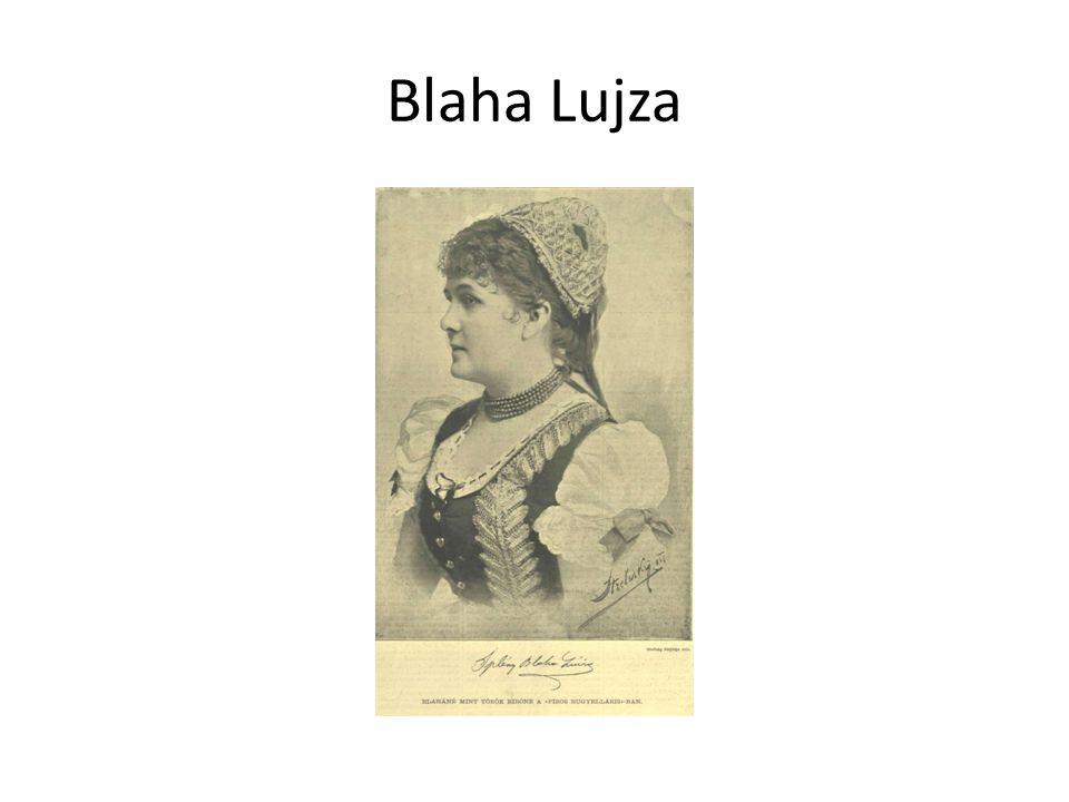 Blaha Lujza