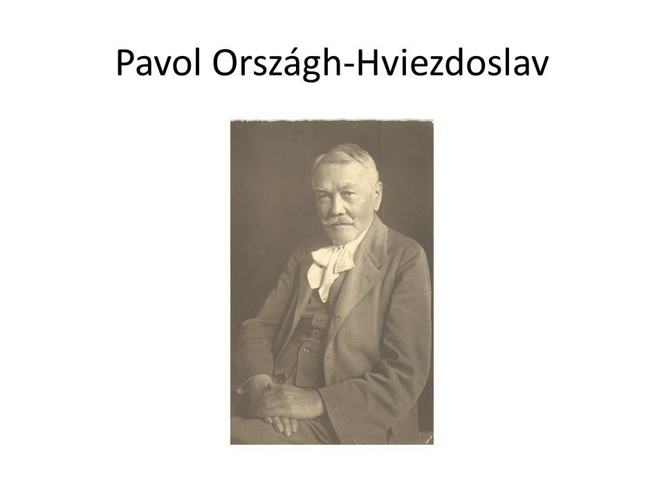 Pavol Országh-Hviezdoslav