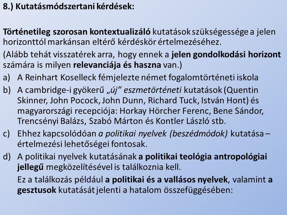 ..III/C) A vita mérlegelése -Hermeneutikai tekintetben; ill.