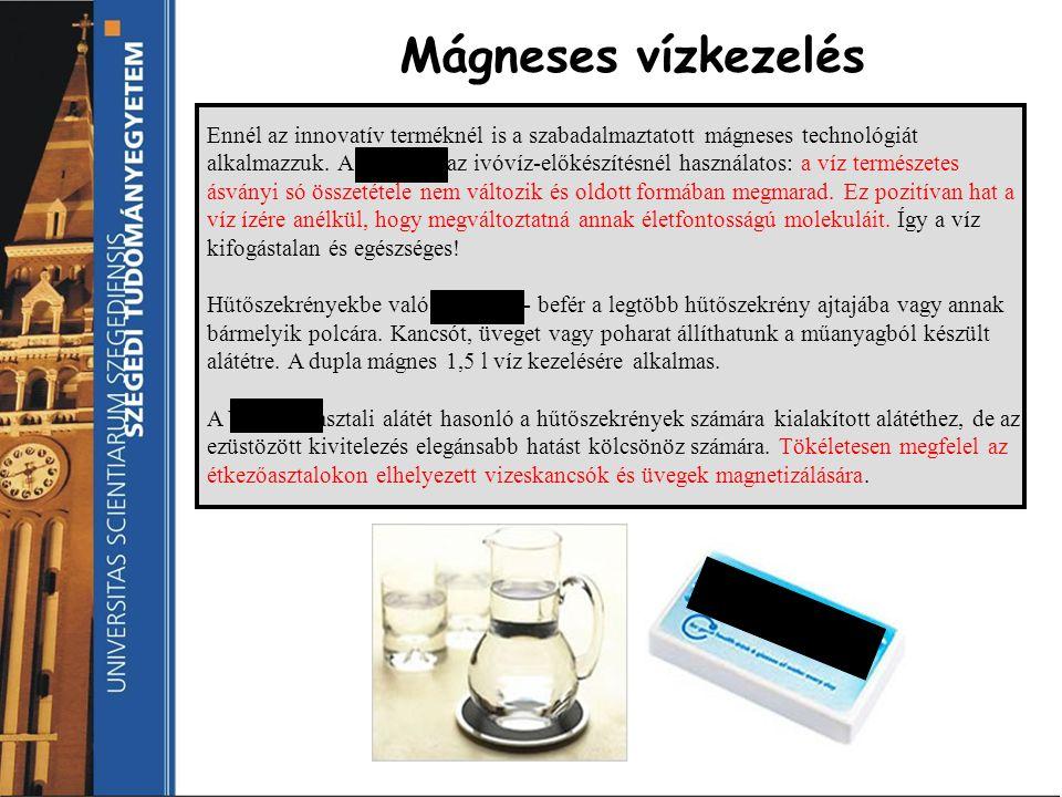 Ennél az innovatív terméknél is a szabadalmaztatott mágneses technológiát alkalmazzuk. A Vitaflow az ivóvíz-előkészítésnél használatos: a víz természe