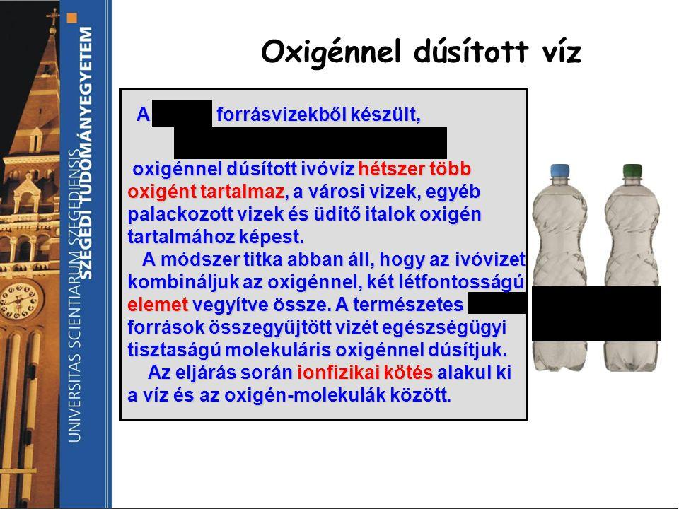 A mátrai forrásvizekből készült, A mátrai forrásvizekből készült, Aqua Oxigén Plusz Aqua Oxigén Plusz oxigénnel dúsított ivóvíz hétszer több oxigént t