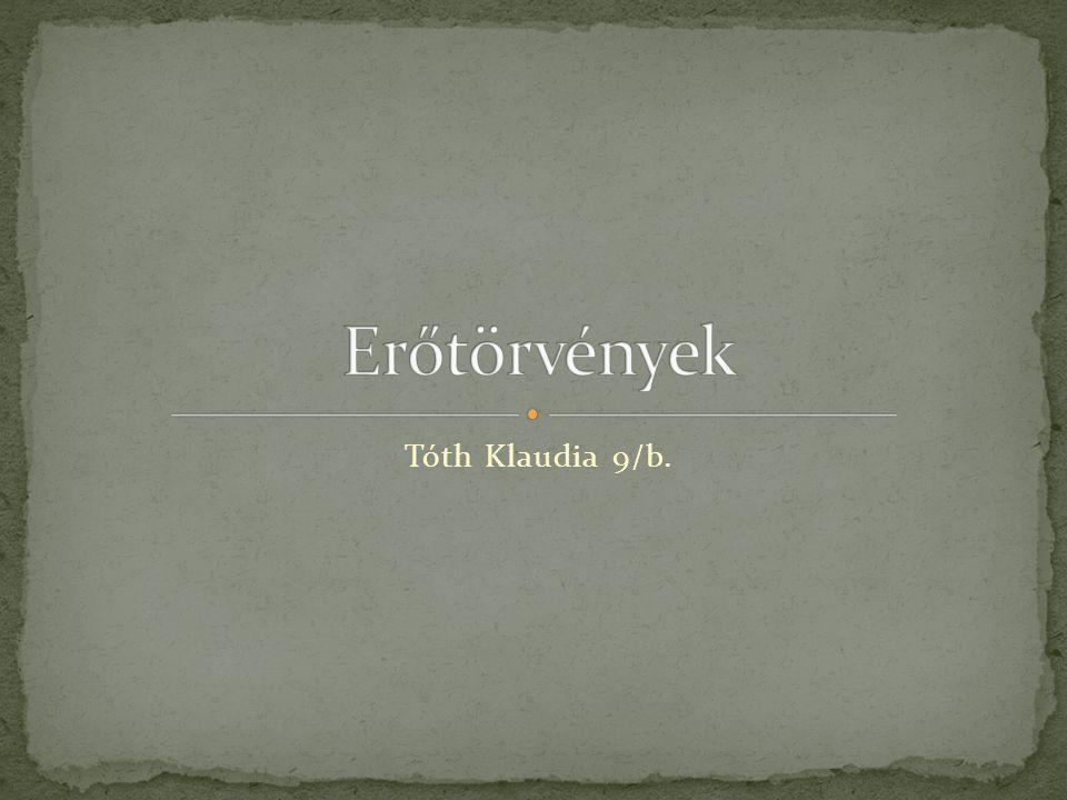 Tóth Klaudia 9/b.