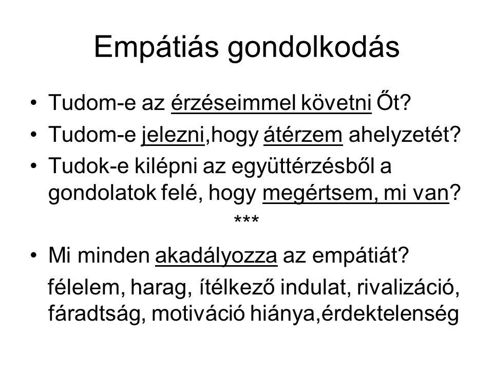 Felhasznált irodalom 1.Gyökössy Endre: Magunkról magunknak.