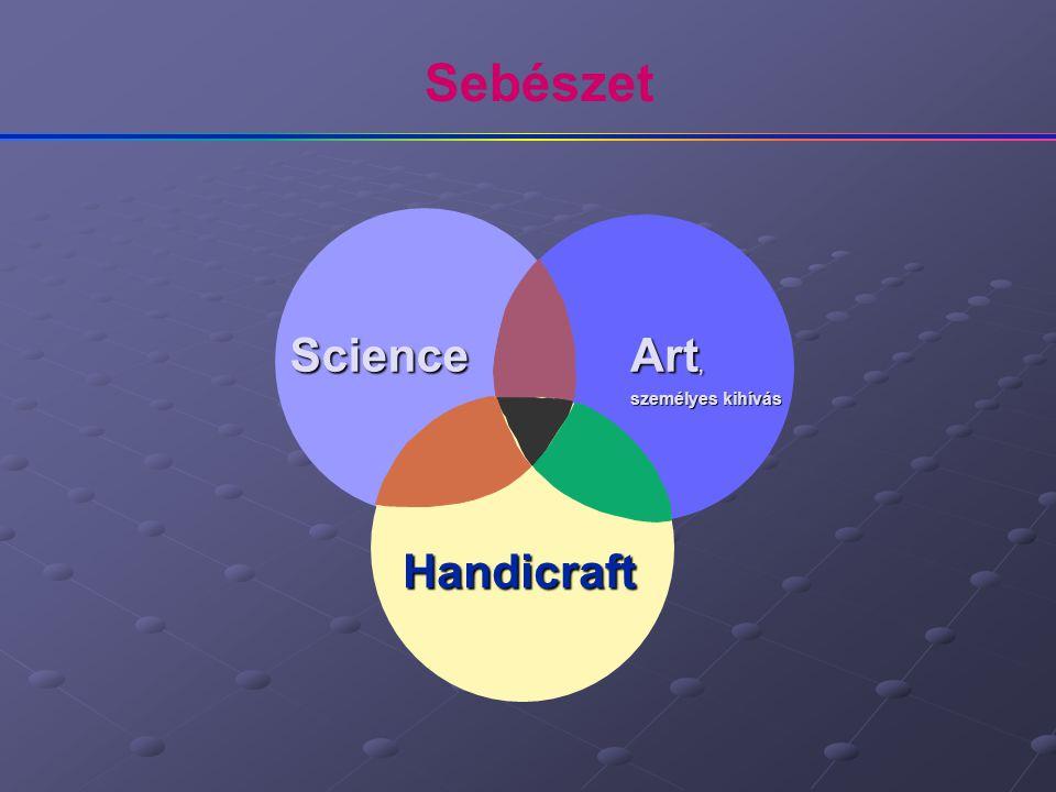 Science Art, személyes kihívás Handicraft Sebészet