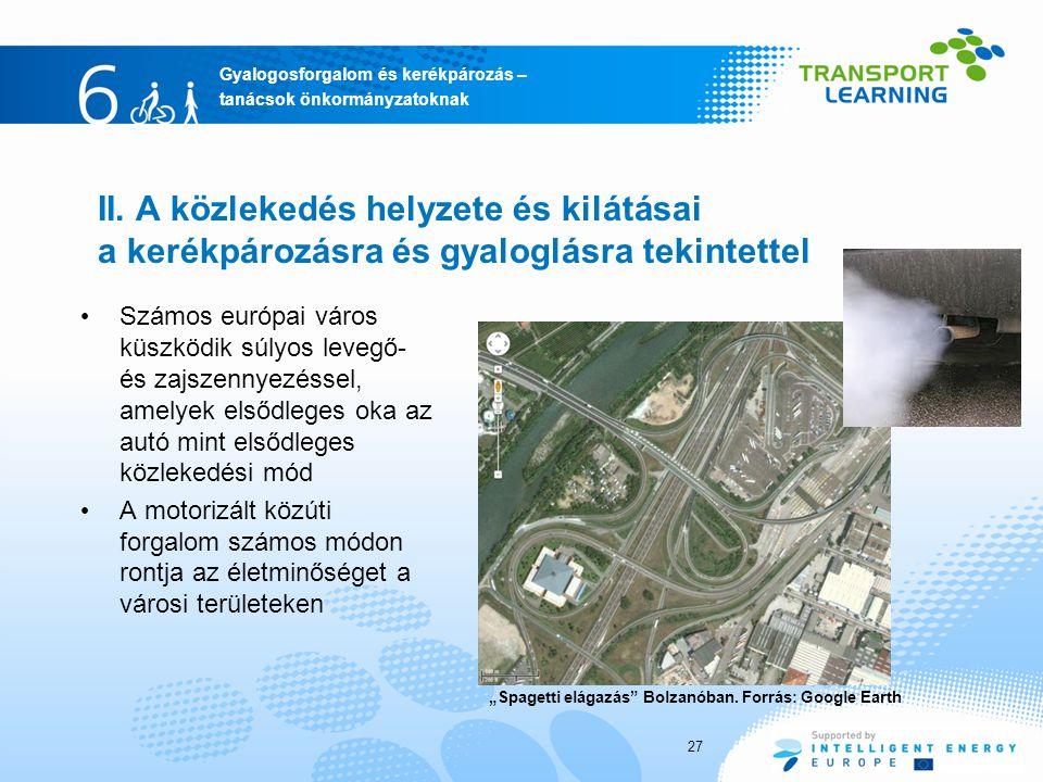 Gyalogosforgalom és kerékpározás – tanácsok önkormányzatoknak II.