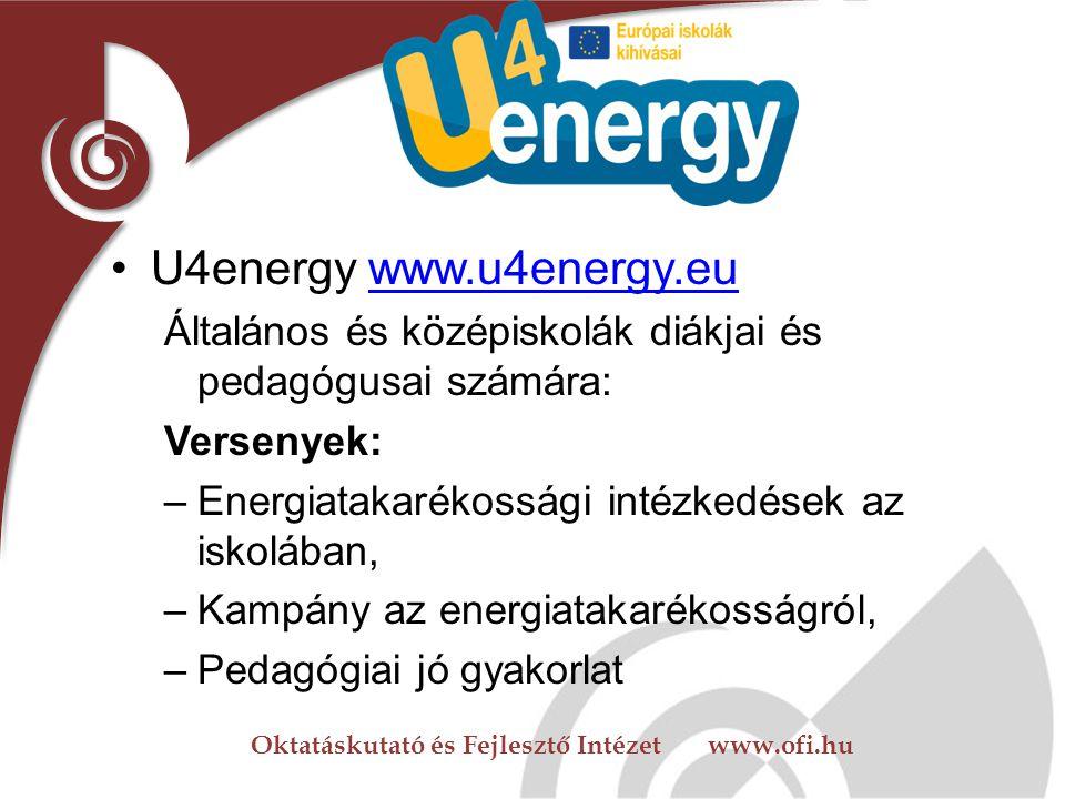 Oktatáskutató és Fejlesztő Intézet www.ofi.hu Nemzetközi lehetőségek EU - Élethosszig tartó tanulás programja -Iskolai együttműködések -E-twinning -Co