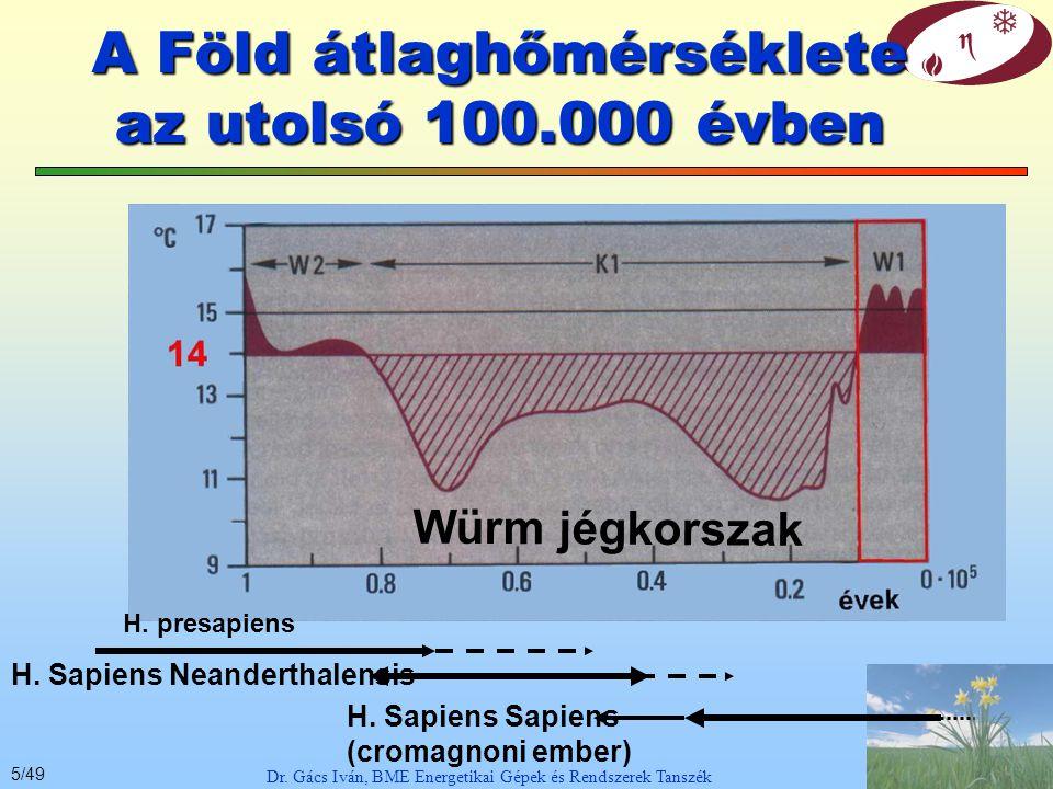 25/49 Dr. Gács Iván, BME Energetikai Gépek és Rendszerek Tanszék Karbon ciklus