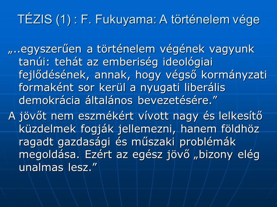 TÉZIS (1) : F.