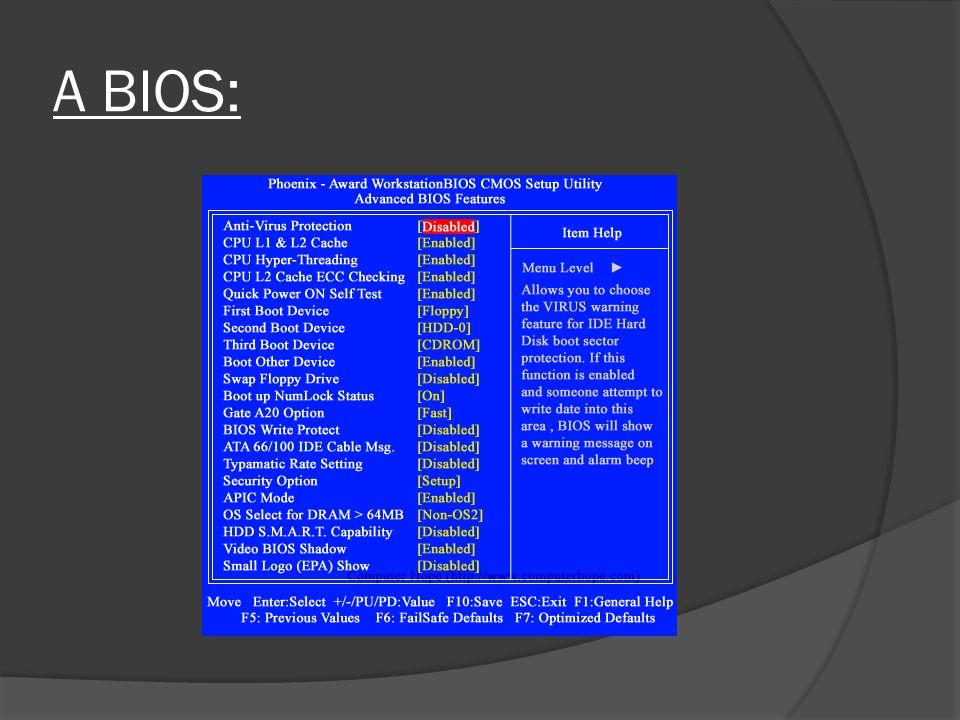 DOS operációs rendszer indításkor:  IO.SYS:  Input Output jelek vezérlése a feladata (billentyűzetről kapott jelek, képernyőre kiírt utasítás).