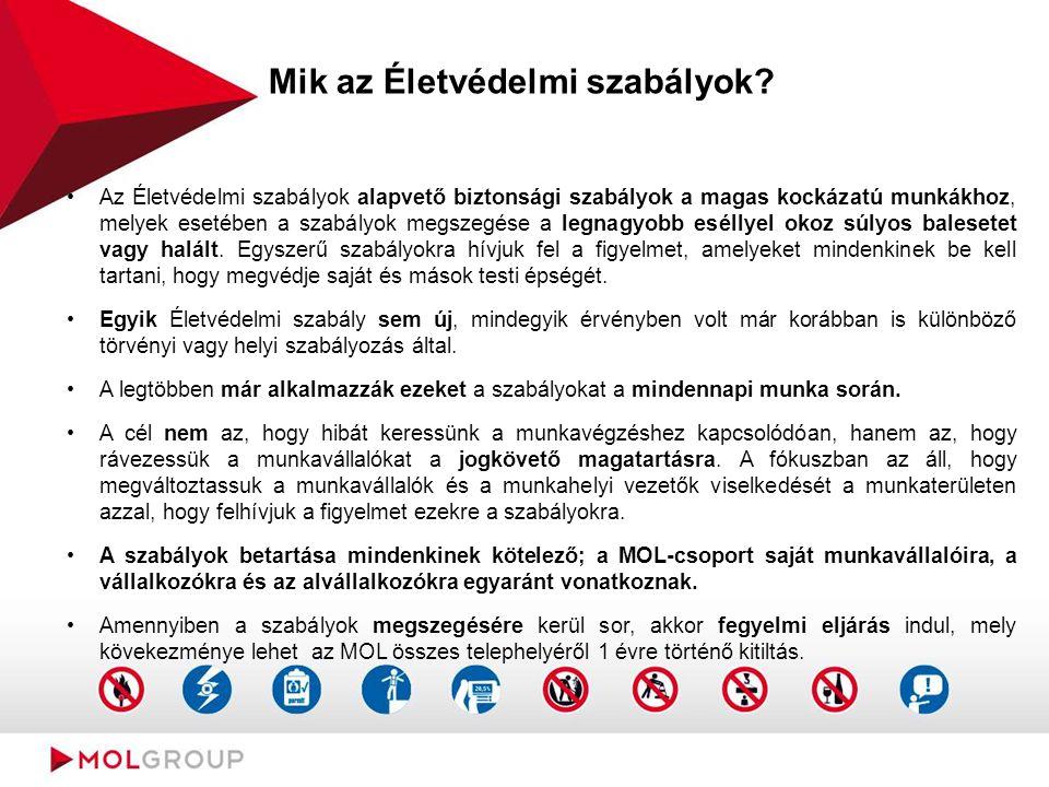 Mik az Életvédelmi szabályok.