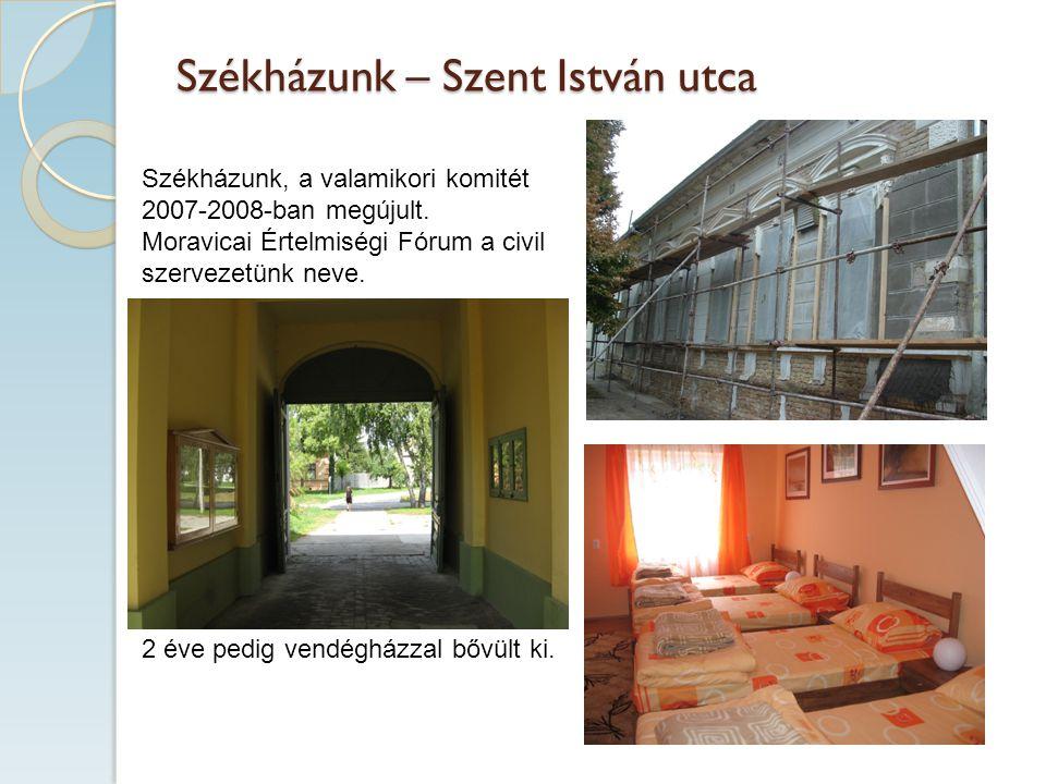 Székházunk – Szent István utca Székházunk, a valamikori komitét 2007-2008-ban megújult.