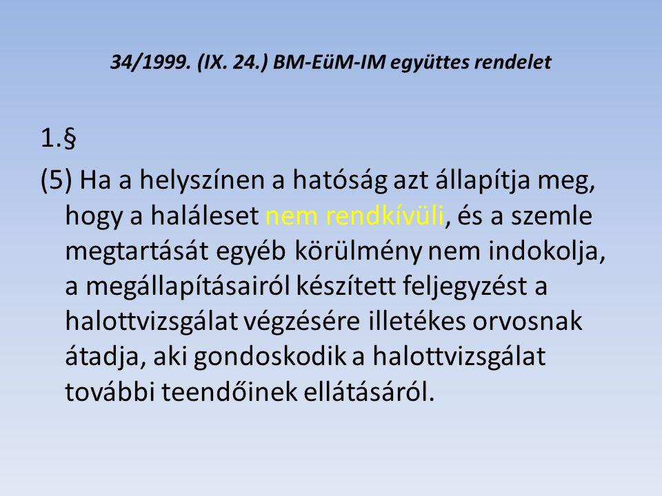 34/1999.(IX.