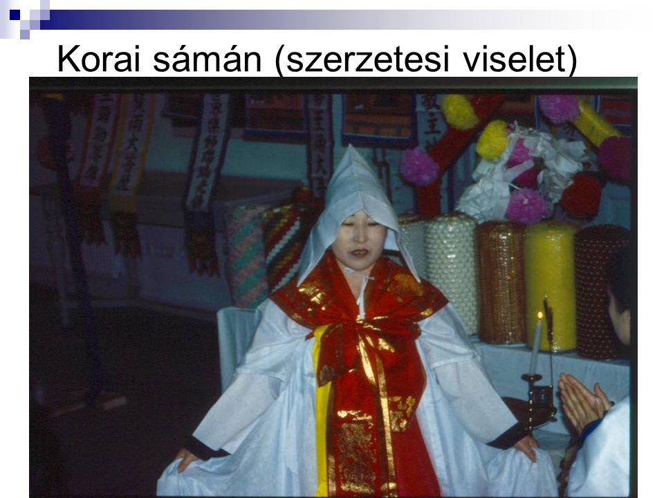 Korai sámán (szerzetesi viselet)