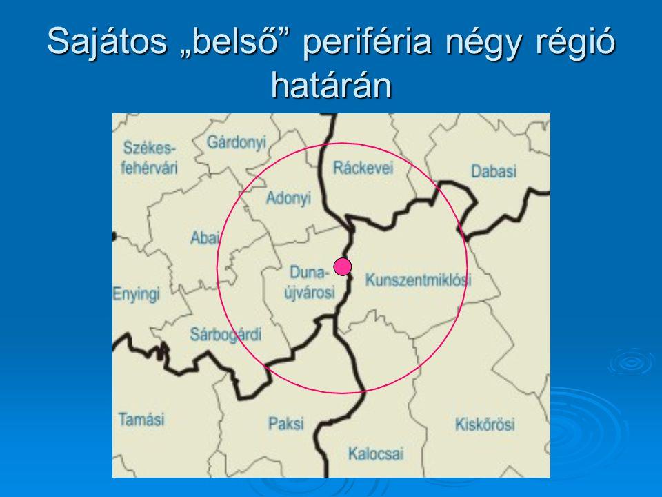 Dunaújváros, mint interregionális térszervező központ Köszönjük figyelmüket!