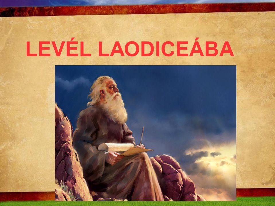 LEVÉL LAODICEÁBA