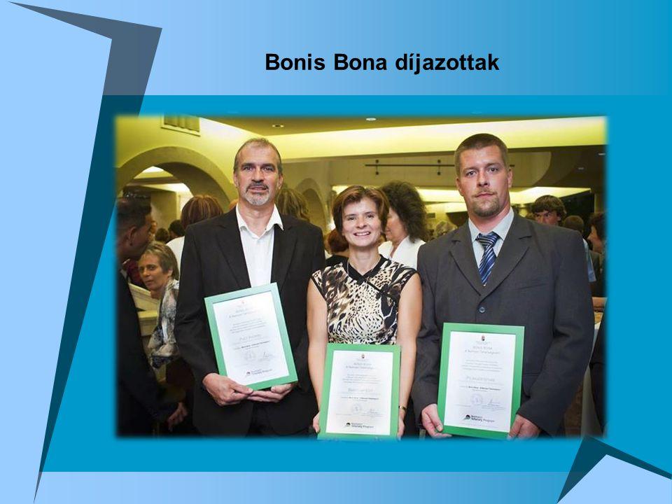 Bonis Bona díjazottak