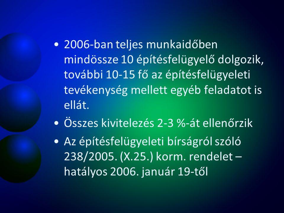 A feladatot kormányrendelet 2007.