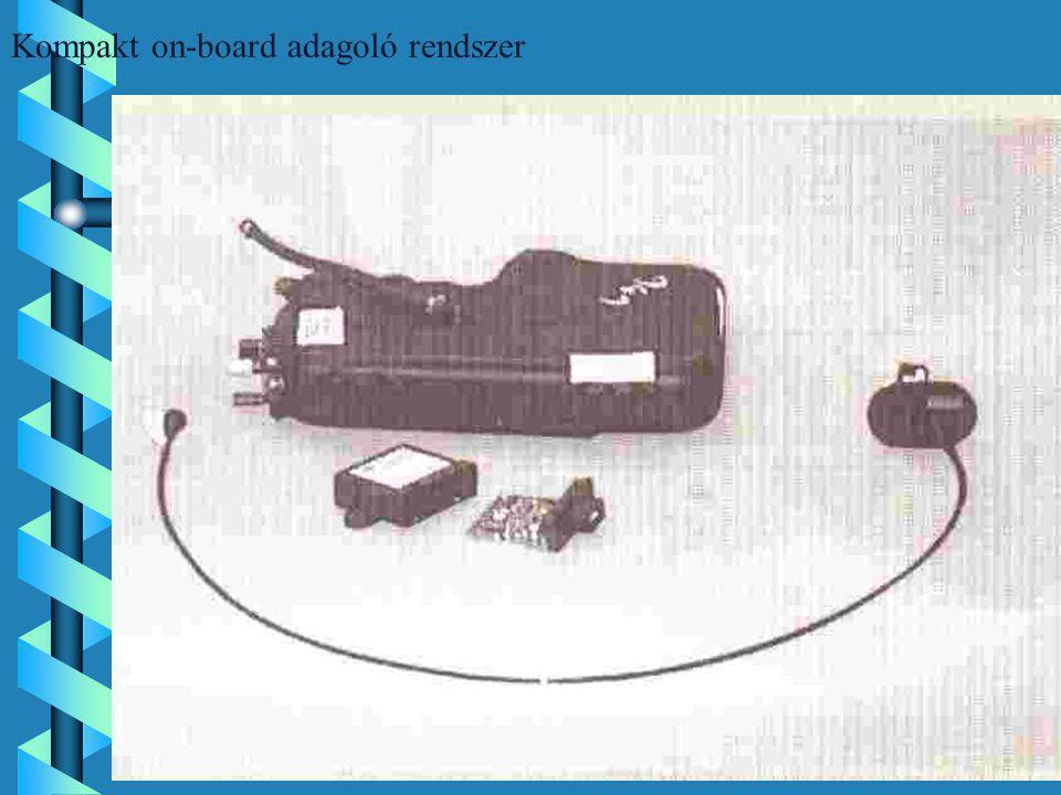 Kompakt on-board adagoló rendszer