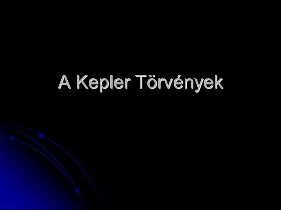 A Kepler Törvények