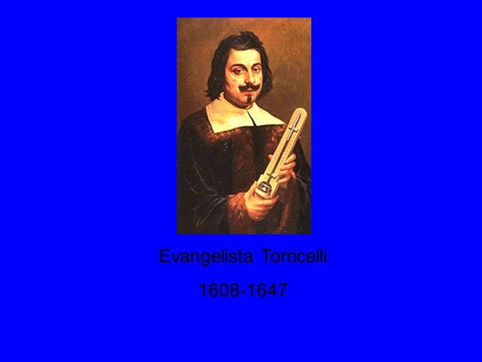 Evangelista Torricelli 1608-1647