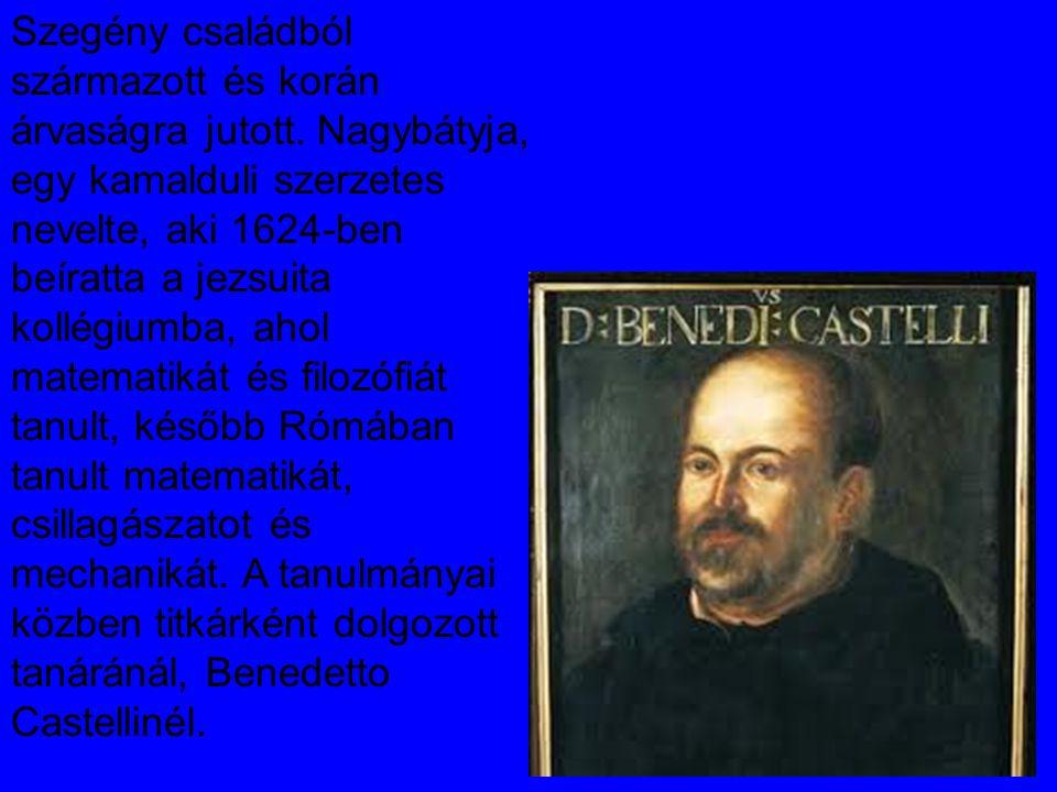 Rómában megismerkedett Galilei írásaival, többek között az 1632- ben megjelent Dialogo-val, amelyek nagy hatással voltak rá.