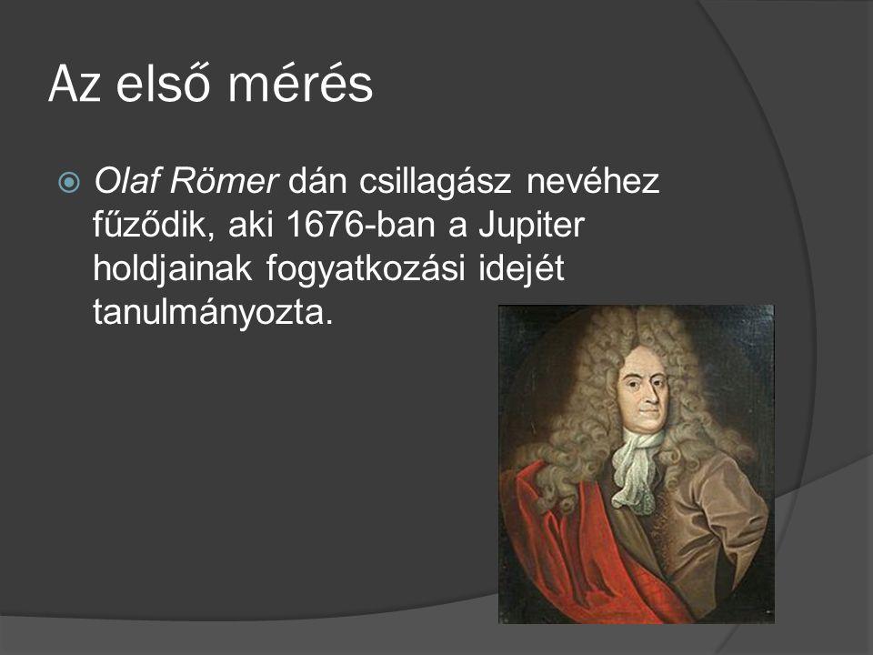 Olaf Römer  1644.szeptember 25. – Koppenhága, 1710.