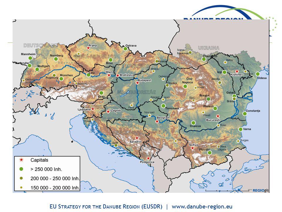 EU S TRATEGY FOR THE D ANUBE R EGION (EUSDR) | www.danube-region.eu