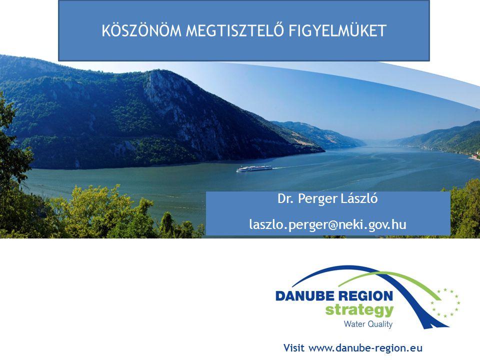 Visit www.danube-region.eu Dr.
